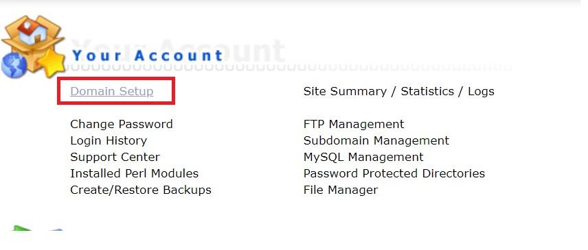 Tiếp theo bạn Bật Symlink từ private_html vào public_html