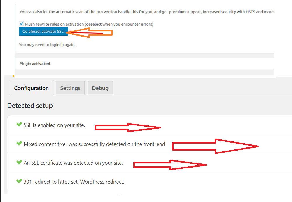 Cách Cài chứng chỉ SSL cho web WordPress với plugin Really Simple SSL