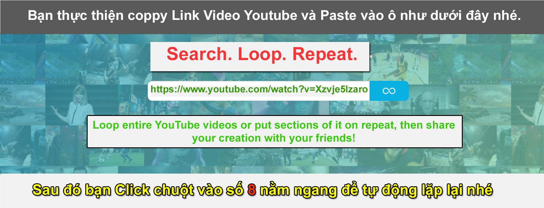 Phát lại Video hoặc đoạn Video bằng tiện ích EndlessVideo